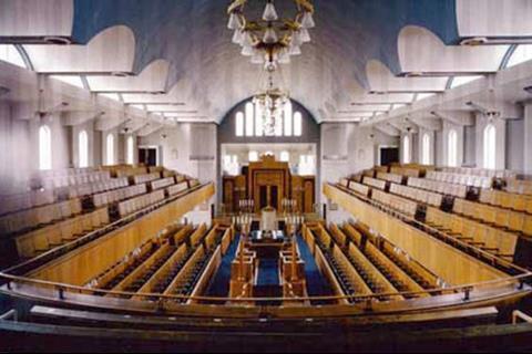 Liverpool New Hebrew Congregation Synagogue, Greenbank Drive, Liverpool. Ernest Alfred Shennan